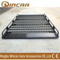 China Front Filled Universal Auto Roof Racks Adjustable Size Cargo Carrier Gutter Mount wholesale