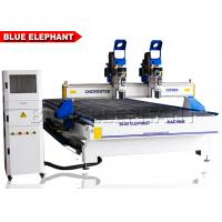 China 2055 multi-heads woodwork cnc router , cnc wood carve machine for wood door design wholesale
