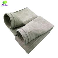 Buy cheap high quality low price needle felt basalt dust filter bags and filter felt from wholesalers