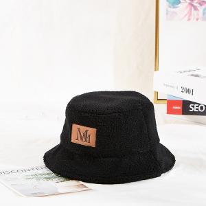 China Character Style Cotton Twill 60cm Fisherman Bucket Hat wholesale