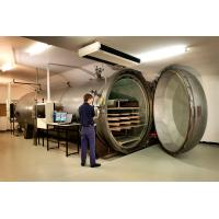 China Rubber Vulcanized  Autoclave With Safety Interlock , PLC Control,and is of high temperature and low pressure wholesale