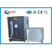 Micro Controlled Flame Test Equipment 820*820*1500 MM With Observation Window