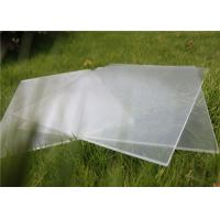 China Small Size 100 x 100mm Solar Photovoltaic Glass 3.2mm Thickness For Solar Cell wholesale