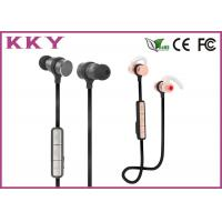 China Wireless In Ear Bluetooth Earphones Magnetic Earbuds For IPhone / Android Smartphone wholesale