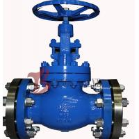 China Industrial OS&Y Globe Valve Rising Stem Hardfaced 300LB Flanged / BW on sale