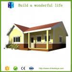 China Professional design luxury light steel villa modern prefab homes wholesale