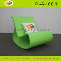 China Rocking Chair  PE Lounge Chair  Plastic Rocking Chair For Outdoor  Indoor  Kids wholesale