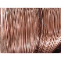 Quality Coppered welded steel pipe / carbon steel tube for household refrigeration for sale