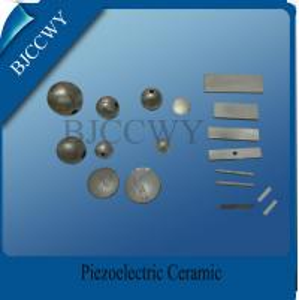 China D10 Spherical Piezoelectric Ceramics Piezo Ceramic Plate Pzt4 Pzt 5 Pzt8 wholesale