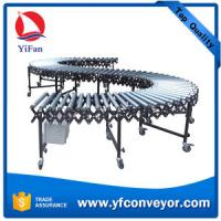 China Container,truck,vehicle,trailer,van Loading and Unloading Powered Roller Conveyor on sale