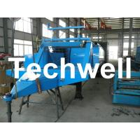 China Electric Control Trailer Mounted K Span Roll Forming Machine For Arched Roof Panel wholesale