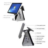 Buy cheap Retail All In One POS Terminal 15 Inch Built In 80mm Thermal Printer POS System from wholesalers