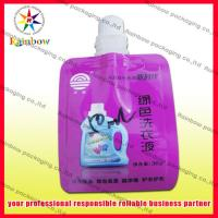 China Custom Print Doypack Spout Pouch Packaging For Shampoo , Gas Barrier wholesale