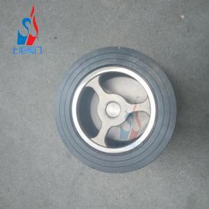 China Cast steel double-clip check valve iron lift check valve light body spring one-way valve wholesale