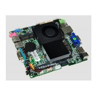 China Low Power Celeron 1037U Nano PC Motherboard with SATA 3.0 Support VGA / HDMI / LVDS wholesale