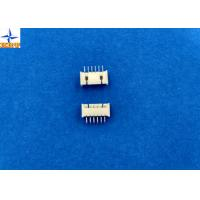 China 1.25mm pitch Top entry type wafer connector PCB connector tin-plated pin shrouded header on sale