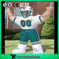 China Football Event Advertising Inflatable Sports man Cartoon wholesale