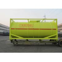 China International Carbon Steel 20 Foot Tank Container For Oil Transport Or Storage on sale
