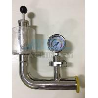 China Stainless Steel Spring Pressure Relief Valve for Tank  Relief Valve with Manometer for Fermentation Tank wholesale