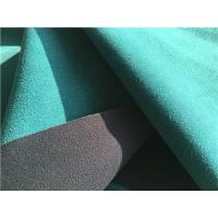 China 140CM Width Suede Leather Fabric , Handbags Suede Leather Material wholesale