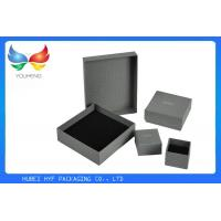 Buy cheap Embossing Luxury Gift Boxes , Black Printing Square Gift Boxes For Jewelry Packaging from wholesalers