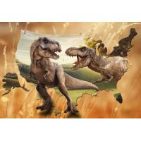 China Lifelike Animal Dinosaur 3D Lenticular Postcard 12x17cm Customized Theme Pictures wholesale