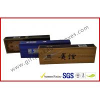 China Elegant Colorful Printed E Cigarette / Cigar Gift Box  , Custom Rigid Board Tobacco Gift Packages wholesale