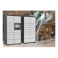 China Public Rental Touch Screen Locker For Luggage , Fingerprint Storage Lockers For Lounge on sale
