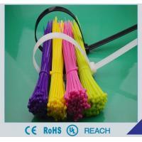 China Self-locking nylon cable ties on sale
