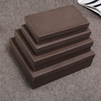 China Cardboard Custom Printed Boxes Various Size For Notebook / Planner Package on sale