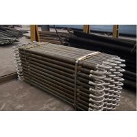 China Seamless Base Spiral Finned Tube For Heat Exchanger With ASTM B891 wholesale