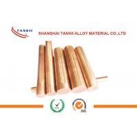 Buy cheap 0.08mm-50mm CuCr1 CW105C UNS C18200 ASTM chromium copper rod / wire  C18150 from wholesalers