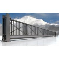 China Iron Electric Trackless Automatic Sliding Gates For Workshop Building wholesale