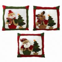 China Christmas Pillow Crafts, Various Styles are Available wholesale