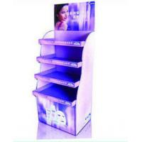 China CMYK / Pantone Printing Corrugated Cardboard Display Stands For Retail Cosmetic wholesale