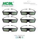 China Universal Active 3D Eyewear BT 3D Shutter Glasses For Sharp / Changhong / Skyworth / Konka wholesale