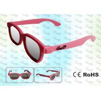 China REALD Cinema Colorful kids Circular polarized 3D glasses wholesale