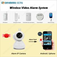 China Smart home monitoring wireless wired motion activated security light camera on sale