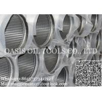 Buy cheap stainless steel water well strainer pipe/Johnson screens factory distributors for drilling well service from wholesalers