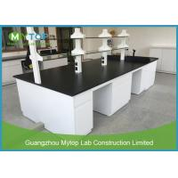 China Ceramic Worktop Lab Bench Furniture For Microbiology General Laboratory Alkali Resistant wholesale