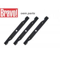 China Black Lawn And Garden Equipment Parts Steel Lawn Mower Blades Replacement wholesale