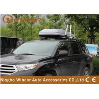 China 196L Black or Sliver Single Side Car Top Roof Luggage Box for SUV WIN14 wholesale