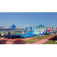 China Backyard Big Amazing Inflatable Water Parks Kid And Adult Outdoor Games wholesale
