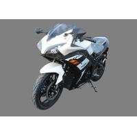 China Gas Fuel Cool Cross Sport Motorcycles CGB 150cc Air Cooled Engine White Plastic Body on sale