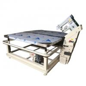 China High Precision Automatic Flipping Tape Edge Machine Mattress Machinery 5mm Stitch Length wholesale