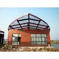 China Mildew Proof Exterior Wood Composite Cladding , Composite Cladding Boards Natural Wood Texture wholesale