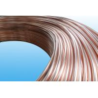 China 0.55mm Low Carbon Copper Coated Bundy Tube For Freezer , Bundy Tubing Company wholesale