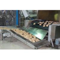 China Full Auto Pita Production Line 850 Mm Belt Width With Dough Sheeting System wholesale
