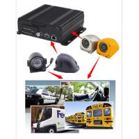 China 4CH 720P AHD Input Mobile Vehicle DVR Support 4 / 3G WIFI GPS Funtion , Dual SD Card wholesale
