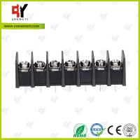 China 8.0kg Torque Barrier Terminal Block HQ25CB-7.62 2P - 24P Pole 7.62mm Spacing wholesale